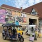 Toeristische Attractie te Middelkerke ' Stripbeelden & Erfgoedroute tour