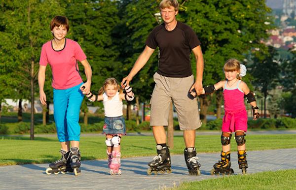 Familie  Skatetochten- Lapwings on tour