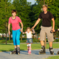 Familie  Skatetochten- Lapwings on tour