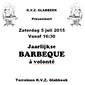 jaarlijkse barbecue