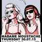 COSMONAUTS (US - garage rock) + THE GLÜCKS (BE) @ Madame Moustache