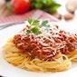 Spaghetti à volonté