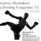 Starterscursus thaiboksen