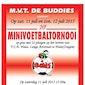 Minivoetbaltornooi MVT De Buddies