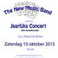 New Music Band Zaventem - 10de Jaarlijks Concert op zaterdag 10 oktober 20u