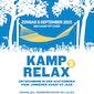 Kamp Relax² - Ontspanning in den achternoen voor jongeren vanaf 55 jaar