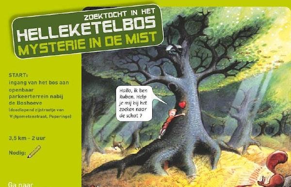 """Speurtocht """"Mysterie in de mist"""" wandeling"""