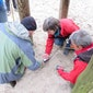 Praktijkdag gebruik lawinebieper en lawineslachtoffer zoeken en EHBO lawineslachtoffer.
