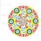 Initiatie mandala tekenen : een lotus bloem