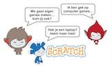Leren programmeren met Scratch GAAT VERDER (6 - 17 jaar) Sint-Job-In-'t-Goor