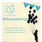 Ballonwedstrijd 20 jaar bibliotheek