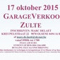 garageverkoop 17 oktober doorheen groot Zulte