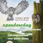 Opendeurdag in het Opvangcentrum voor vogels en wilde dieren