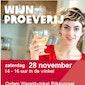 Wijnproeverij Oxfam Wereldwinkel Rijkevorsel