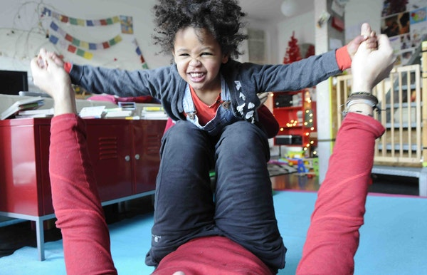 Ouder&kind yoga: heerlijk samen genieten...