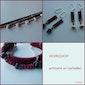 workshop armband en oorbellen met leder, kralen en schakelketting