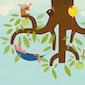 Kindercamping onderstebomen