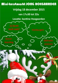 Mini-kerstmarkt Jong Hoegaarden