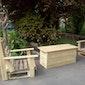 Workshop meubelen van paletten 2: tafel en twee stoelen
