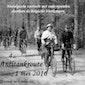 Nostalgische toertocht met oude niet-gemotoriseerde rijwielen (oude fietsen)