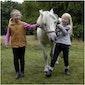Bezoek aan een echte ponyranch