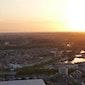 Buitengewone zonsondergang