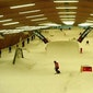 Dagje skiën of snowboarden in Ice-mountain in Komen