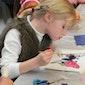 Kinderatelier: Een oude techniek: het achter-glas-schilderij (VOLZET)