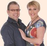 Show met Vanessa Chinitor en Dirk Bauters