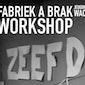 Fabriek A Brak workshop Zeefdruk - techniek