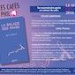 Café philo: Invitée : Sylvie Godefroid: