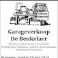 Garageverkoop De Beukelaer