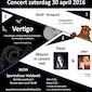 Concert harmonieorkest Sint-Maurus met Dean en Jolien