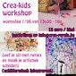 Crea-kids workshop schilderij maken