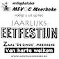Jaarlijks eetfestijn volleybalclub Mevoc Meerbeke