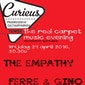 The Red Carpet Music Evening: Ferre & Gino, The Empathy
