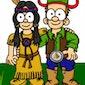 Grabbelpas – Cowboys en indianen
