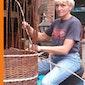 Week van de Amateurkunsten in Boekelberg: mandenvlechten