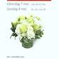 Bloemenverkoop ten voordele van Ziekenzorg St. Elisabeth