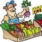Gezellige boerenmarkt met kookboeken ShareFair