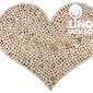 Decoratief hart gemaakt met hout