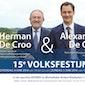 Volksfestijn Comité Sociale Werken Herman en Alexander De Croo