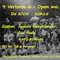 't Verloren ei - open mic