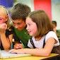 Kinderen wijs op het web