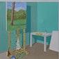 Tentoonstelling schilder Werner Edebau in Lauka Lo