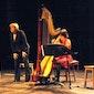 Huiskamerconcert Klassiek: Elke Tierens (fluit), Ellen Schafraet (harp) en Martine Van Gorp (woord).
