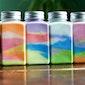Knutselactiviteit: kleuren met stoepkrijt