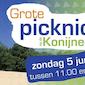 Grote picknick op de Konijnenberg!