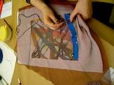 Zeefdruk op textiel