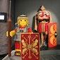 Romeinen in Lego stenen